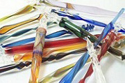 Flameworked Glass Dip Style Pens from Ernst Glass